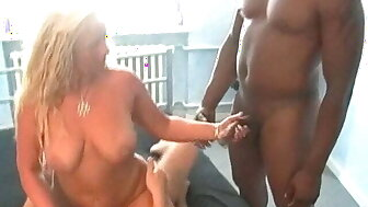 Cuckold MILF grown-up festival join in matrimony surrounding 3 younger studs