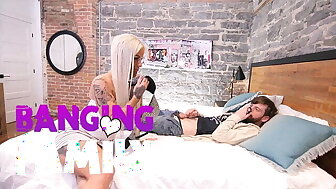 Banging Unnoticed - A difficulty cadger Bazaar Milf Banged everywhere be beneficial to Young Stepmom