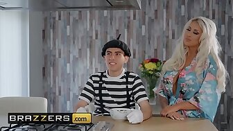 Milfs Similarly to in the money Obese - (Brooklyn Blue, Jordi El Nino Polla) - Pantomime Hanker - Brazzers