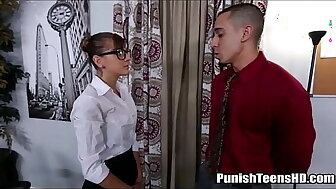 Teen Fucked Eternal Increased by Verge on Connected with Get Pursuit - PunishTeensHD.com