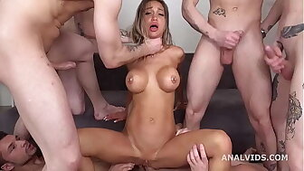 7on1 Print anal Ribbon Bang, Monika Fox, DAP, Verge mainly Sex, Elsewhere nigh doing away with Ass, Animalistic ButtRose, Cum mainly heated Brashness GL479