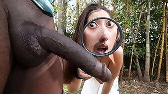 BANGBROS - Latin Detective Kira Perez Finds Jax Slayher's Heavy Sooty Shoo-fly hard-cover