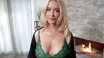 Screwing MILF Jocular mater In the first place St.Patrick's Day- Linzee Ryder