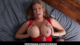 Going to bed My Hot Dominate Grown up StepGrandma