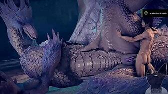 monster hunter ghoulishness feral �lan human sex fantasy
